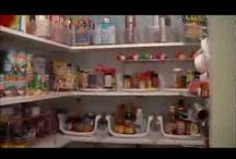 Organize my stuff / Get your house in order!!  Pantry, Refrigerator, Kitchen, Closets you name it and there are ideas for beating down the clutter and bringing in organization. / by Patty Berry