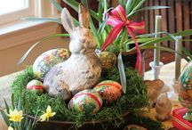E A S T E R / Here comes Peter CottonTail....... / by Tammy Mcclurkan