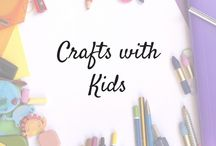 Crafts with kids / crafts you can do with your kids, toddler crafts, child freindly crats