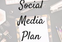Social Media plan / Resources, tips and tricks to help plan and grow social media