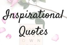 Insperational Quotes / Bible and life quotes to inspire you