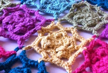 Crochet Blankets & Pillows / Blankets, pillows - cuddly and decorative, for snuggling babies in or crochet for lounging on the couch