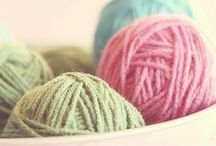 to sew, to knit and crochet / by Hayley Nicole