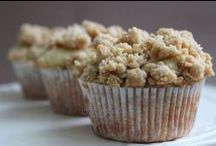 Cupcakes, muffins and cookies
