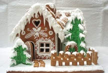 gingerbread houses / by Alison Russell