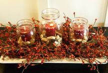 Fall Decorating Ideas / The warm and vibrant colors of Fall make up for the cool temperatures.