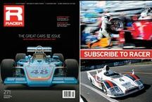 RACER Latest Issue