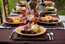 Decoración de mesas/ Dinner table ideas