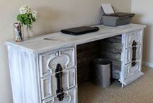Fabulous Refurbs / Recycle someone's cast-offs and those great flea market finds!
