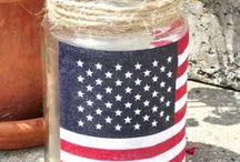 Patriotic Thoughts / Ideas for Memorial Day, Fourth of July or Labor Day Celebrations
