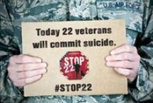 STOP22 / 22 Veterans Commit suicide everyday. K9s For Warriors has an answer #STOP22 / by K9s for Warriors