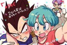 Anime: VegeBul / Cutest anime/manga couple