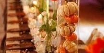 Halloween Wedding Ideas / Decorating ideas for Halloween-themed weddings