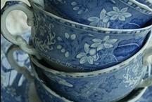 Blue - Bleu / by Paule Galarneau