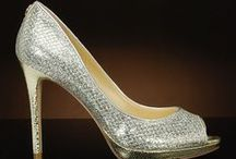 Metallic Wedding Shoes / New and top selling metallic wedding shoes that can be worn again for any special occasion! These are great for prom, or for the bride or her bridesmaids at a wedding! / by My Glass Slipper