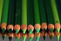 Green - Vert / by Paule Galarneau