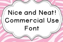 Fonts and Clip Art