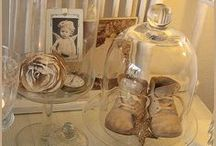 Cloches and Apothecary Jars / Everything is prettier under glass.
