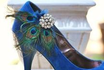 Trend Alert: Peacock Colors / by My Glass Slipper