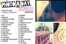 Photo Challenges/ Inspiration / by Whitney Lampher