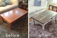 Coffee Table Transformation with Reclaimed Wood