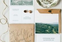 paper ideas / invitation and paper design. / by Tarah Sutton