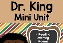 Dr. Martin Luther King and Black History Month / classroom activities and resources