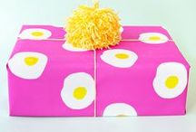 That's A Wrap! / Gift wrap ideas  / by Joani Delezen