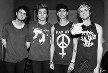 5SOS  / These Aussies know what's up  / by Jenny Barstow