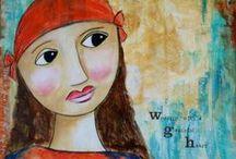 My creativity / my mixed media art :-)