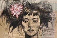 Saatchi, Ink, Journal, Chalk, and Doodle Art