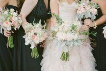 Black and Blush Wedding