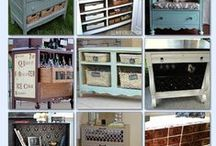 Refinishing/ Repurposing Furniture / Refinish, repurpose, and find it a new home!