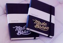 Stationery | MadeBrave® / MadeBrave® branded stationery.