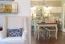 Dining Rooms / A space that isn't used often but sure is pretty.