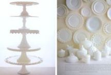Decor | Milk Glass / Milk glass looks great in almost any setting