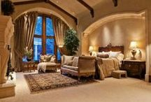 Beautiful Boudoirs / The perfect place for cuddles and snuggles #bedrooms