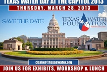 Water Events, Workshops / Water events, symposiums, and workshops across Texas