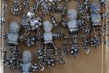 Soldered pendants, bottles & such