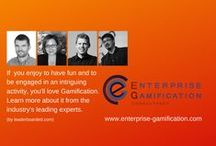 Enterprise Gamification Consultancy / The 'Enterprise Gamification Consultancy' is the first gamification consultancy for businesses.  With four of the top15 Gamification-gurus, and offices in Australia, Munich and the USA it is globally available.  (www.enterprise-gamification.com)