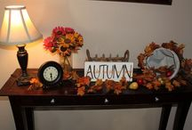 Fall Decor/Thanksgiving / by Rachel Campbell