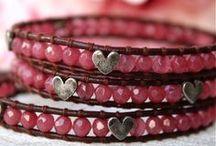 Woven bracelets....
