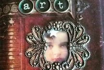 Mini handmade books...
