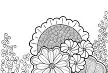 Coloring Pages / by Pretty Things Blog :: Lori Anderson Designs