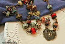 Bead Hoarders Blog Hop / Jewelry / by Pretty Things Blog :: Lori Anderson Designs