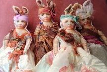 Dolls - to make..... / Creative ideas for dolls,,,,