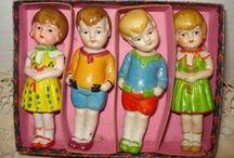 Mini dolls...