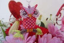 Beaded Owls.....