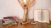Table Lamps / Hand made table lamps