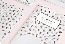 CAFE / RESTAURANT MENU DESIGN / Graphic Design Inspiration - Cafe / Restaurant Menu
